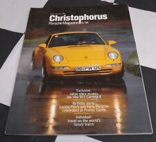 Revista Christophorus Porsche 251 de noviembre de 1994 Porsche 911 carrera 4 Rohrl 356