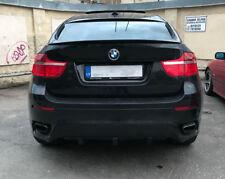 For BMW X6 E71 Performance Rear Bumper spoiler Valance M Splitter Flap Diffuser