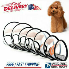 Pet Elizabethan Collar Dog Cat E-Collar Soft Anti-bite Recovery Protection Cone