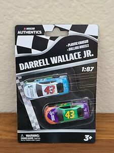 2020 Wave 1 Darrell Wallace Jr Victory Junction 1/87 NASCAR Authentics Twin Pack
