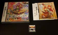 Complete in Box CIB Avalon Code (Nintendo DS, 2009)