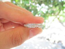 .63 Carat Diamond Half Eternity Ring PT900 codeHE48 sepvergara