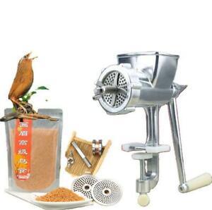 Manual Birds Fishing Bait Granulator Pellet Machine Animal Food Maker Dog Cat