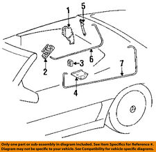 MERCEDES OEM 99-02 SL500 Stowage-Convertible/soft Top-Cylinder 1298002172