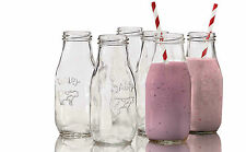 Avanti Glass Milk Bottle 325ml 6 Piece Set RRP $26.95 drinkware glassware