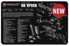Tek Mat Heckler & Koch HK VP9SK VP9  Armorers Gun Cleaning Bench Mat