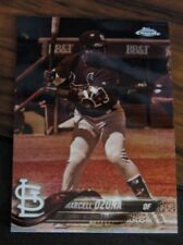 2018 Topps Chrome #149 Marcell Ozuna Cardinals Sepia Tone Refractor Nm-Mt