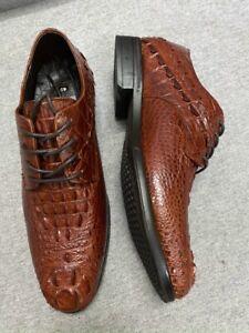 Genuine Crocodile Shoes -Vey Luxury and Unique - Handmade Elegant Shoes
