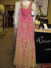 Sherri Hill 11226 Pink Nude Mermaid Pageant Prom Gown Dress sz 8