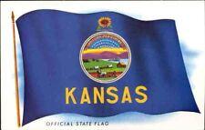(mt5) Postcard: Kansas State Flag