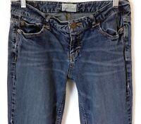 Aéropostale Women's Size 7/8 Hailey Flare Blue Medium Wash Low Rise Jeans