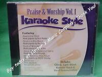 Praise & Worship Volume #1  Christian  Daywind  Karaoke Style  CD+G  Karaoke NEW
