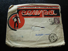 FRANCE - enveloppe 1937 (defectueuse au centre) (cy10) french