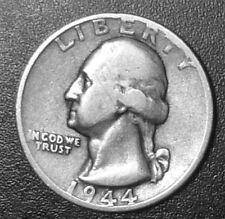1944-S  U.S. SILVER COIN  WASHINGTON QUARTER  San Francisco Mint