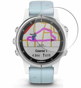 For Garmin Fenix 5 Plus (47mm) Tempered Glass Screen Protector Guard Watch