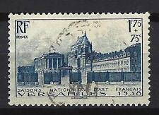 France 1938 château de Versailles Yvert n° 379 oblitéré 1er choix (1)