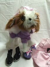 Tini Puppini with Spring Showers outfit