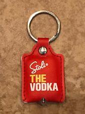Stoli Vodka Stolichnaya Key Chain with light