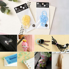 12Pcs Plastic Ring Binder for Spiral Notebook Diary Loose Leaf Book Binding W2F