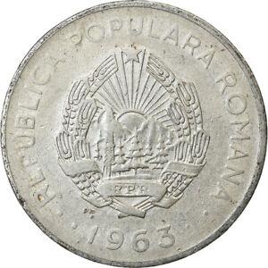 [#740004] Coin, Romania, 3 Lei, 1963, VF, Nickel Clad Steel, KM:91