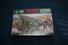 Soviet Gaurds Rocket Mortar Battery for Flames of War by Battlefront