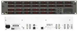 RIEDEL RCP-1028E/O Artist 28 Key INTERCOM PANEL Rack mount With microphone