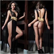 Sexy lingerie hot pole dance bow langerie sexy halter belt design sexy underwear