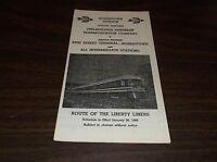 JANUARY 1968 RED ARROW LINES PHILADELPHIA SUBURBAN TRANSPORTATION LIBERTY LINERS