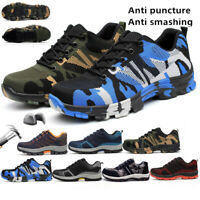 Work Boots Mens's Safety Shoes Steel Toe Indestructible Hiking Climbing Sneakers
