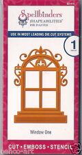Spellbinders capacidades de dar forma Die d-lites Corte Repujar de plantilla de ventana uno 1 Pieza