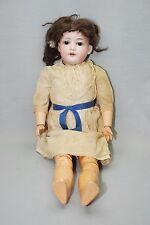 "Antique Armand Marseille Bisque Head Composition Body Doll #390 4-1/2 - 22"""
