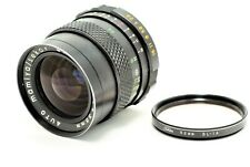 【Exc+++++】 Mamiya Sekor SX 35mm f/2.8 M42 Lens w/Toshiba 52mm SL-1A From Japan
