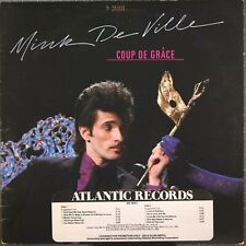 Mink De Ville Coup De Grace LP Atlantic SD 19311 Gold Stamp Promo