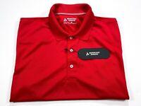 Bermuda Sands XL Men's Red Short Sleeve Golf Polo Wick Away Technology NEW NWT
