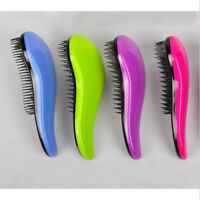 Salon Styling Tamer Tool Magic Detangling Handle Tangle Shower Hair Brush Comb
