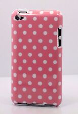 for iPod touch 4th 4g itouch cute case cover polka dots red pink white black//