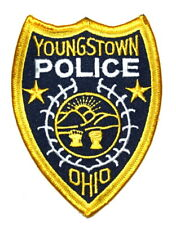 YOUNGSTOWN OHIO OH Sheriff Police Patch STATE SEAL SUNRISE MOUNTAINS WHEAT ~