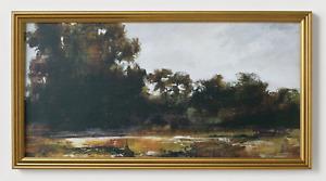 "Studio McGee Threshold 13.9"" x 25.4"" Horizontal Landscape Wall Canvas Art Target"