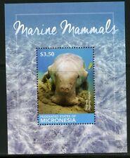 MICRONESIA 2015 MARINE MAMMALS ,DUGONG,   SOUVENIR SHEET MINT NH