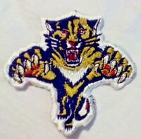 Florida Panthers NHL Patch Embroidered Iron On 1990s Logo