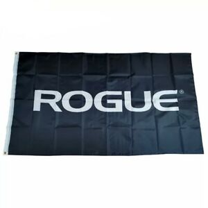 Rogue Flag 3x5 90cm x 150cm Black White Gym Garage Mancave Fitness New 3x5ft