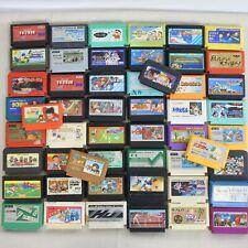 """WHOLESALE FAMICOM Lot 50 """"NTSC-J"""" Nintendo FC Japan Game Cartridge 6062fcc50"""