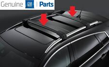 Cadillac SRX 2010-2016 Genuine GM Black Roof Rack Cross Rail Package 19171186