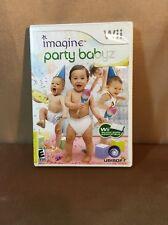 Imagine Party Babyz Nintendo Wii H3