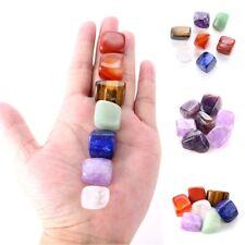 7pcs/Set Chakra Stones Palm Natural Stone Reiki Healing Crystals Gemstones Decor