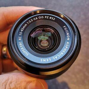 Fujifilm 15-45mm f3.5-5.6 XC OIS PZ - Black (Perfect condition)