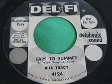 EX Promo Teen Ballard 45 : Bill Tracy ~ Taps To Summer ~ You're My Girl ~ Del Fi