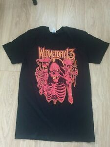 Wednesday 13 Frankenstein Drag Queens From Planet 13 T Shirt rare london  medium