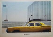 """Paul Staiger 1941 lithographie """"UN Plaza"""" extrait du DOCUMENTA de 1972"""