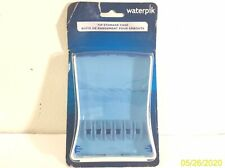 NEW Waterpik Convenient Hygienic Sturdy Storage Case For Replacement Tips Blue
